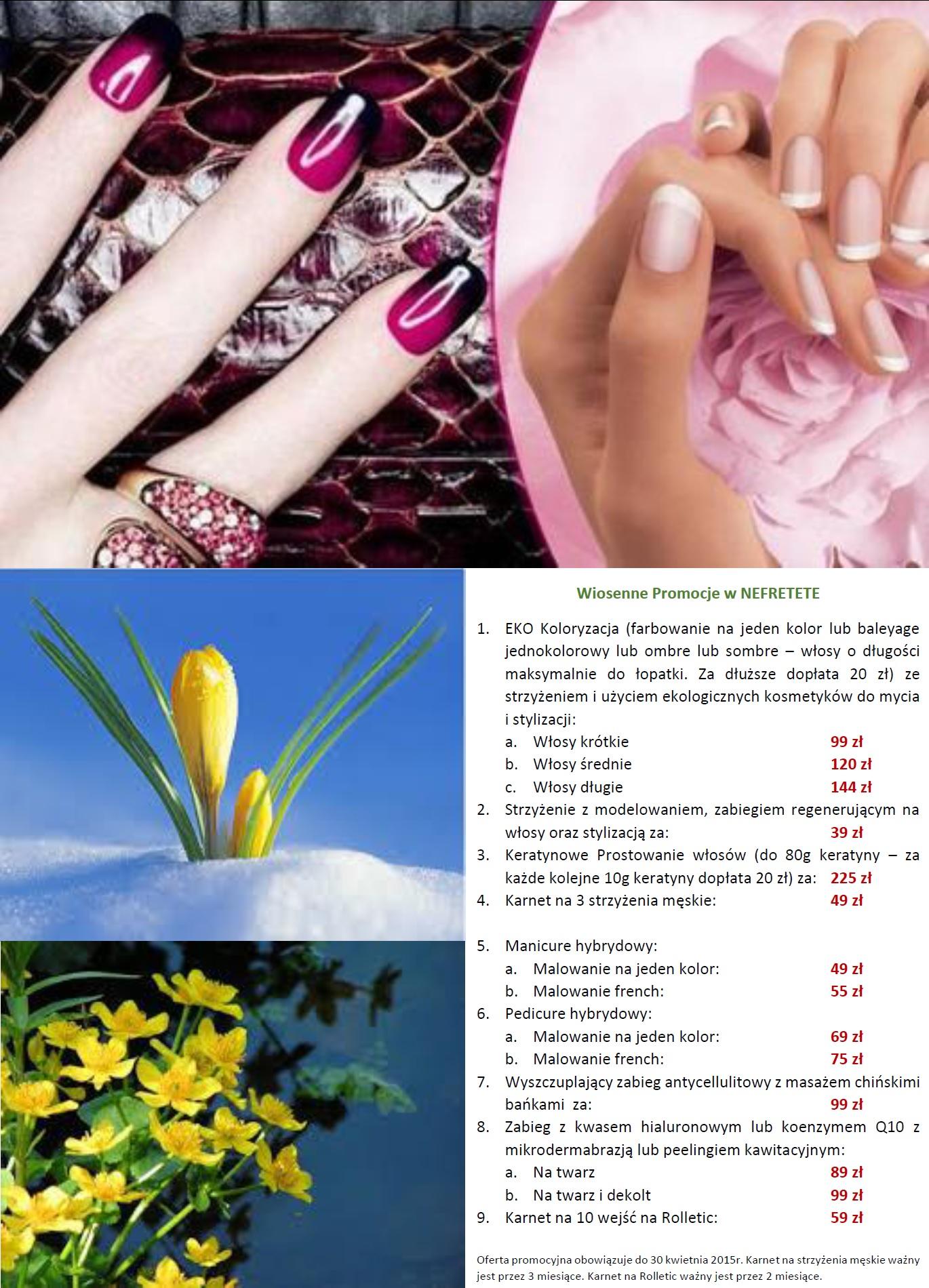 NEFRETETE promocja kwiecień