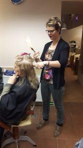 leczenie włosów ogniem